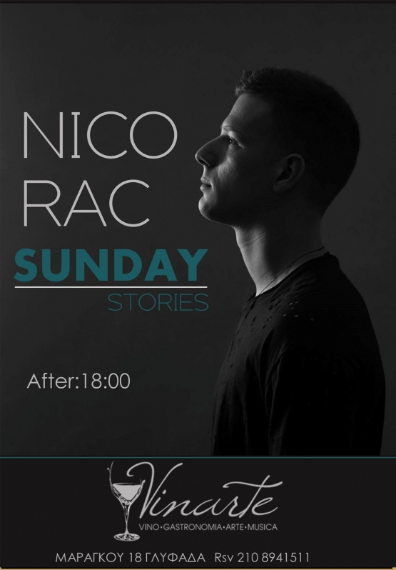 NICO RAC<br/>Sunday<br/>Stories